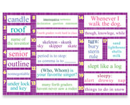 4th Grade Mountain Language Bulletin Board Kit