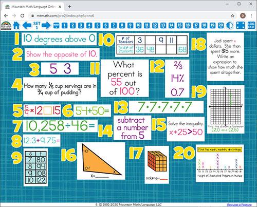6th grade math worksheets online