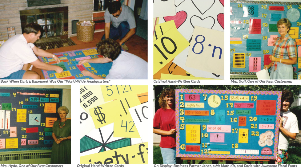 Original Mountain Math Bulletin Boards and Cards