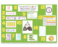 1st Grade Common Core Math Bulletin Board Kit