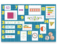 2nd Grade Mountain Math Bulletin Board Kit