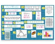 6th Grade Mountain Math Bulletin Board Kit