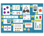 Kindergarten Mountain Math Bulletin Board Kit