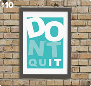 Don't Quit Artwork