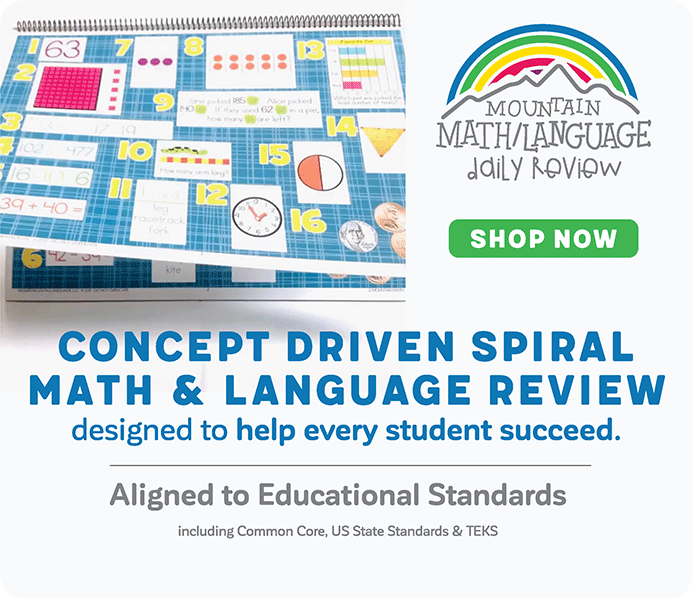 Concept Driven Spiral Math and Language Review