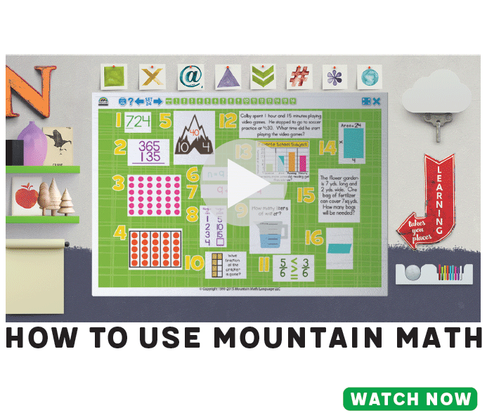 How To Use Mountain Math